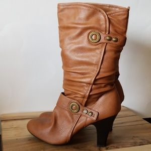 a.n.a Boots with Heel
